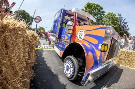 Optimus Prime Rolls...